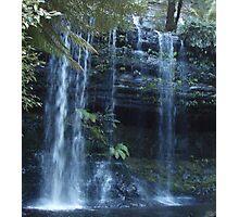 """splash""  - Russell Falls - late afternoon, Tasmania Photographic Print"