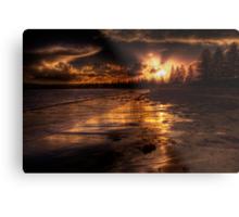 Esplanade sunset Metal Print