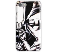FIGHTING IS NEVER BLACK AND WHITE iPhone Case/Skin