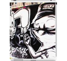 FIGHTING IS NEVER BLACK AND WHITE iPad Case/Skin