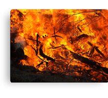 """Inferno"" Canvas Print"