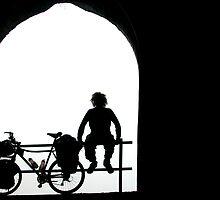 Man and Bike by Alastair Humphreys