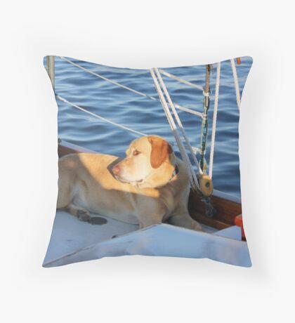 Captains Mate Throw Pillow