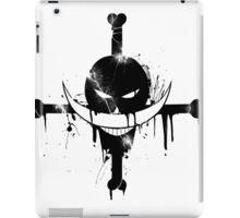 Whitebeard Pirates - black iPad Case/Skin