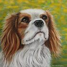 &quot;Addie&quot; - Cavalier King Charles Spaniel  by thatdogshop