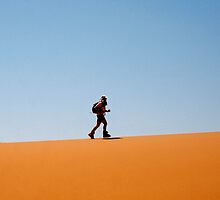 Man in Desert by Alastair Humphreys