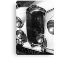 1950 Riley 2.5 litre Drophead Saloon Canvas Print