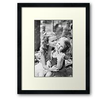 Sisterly Love..... Framed Print