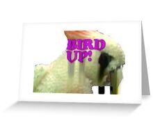 Bird Up Greeting Card