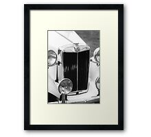1952 M.G.T.D. Sports Car Framed Print