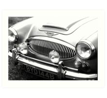 1964 Austin-Healey 3000 Sports Car Art Print