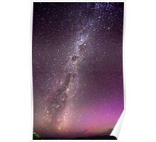 Under a tasmanian Milky way Poster