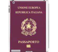 Italian Passport iPad Case/Skin