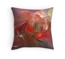 Space Abstract: Gasmic Throw Pillow