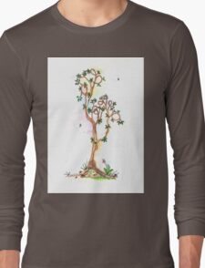 Tree of Life #17 - the art of doing nothing. Long Sleeve T-Shirt