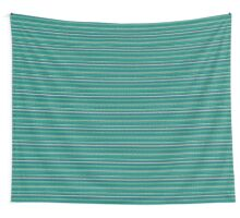 Knitted Pattern Set 2 - Blue/Green Wall Tapestry