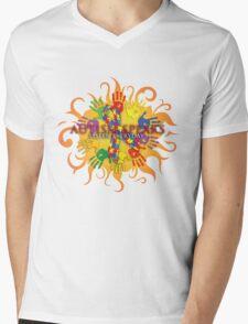 Autism Sun Mens V-Neck T-Shirt