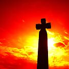 whitby cross orange by oliver antwhistle