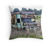 Field of Ford Throw Pillow