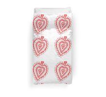 Valentine Heart 8 Red  Duvet Cover