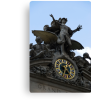 Grand Central Sculpture Canvas Print