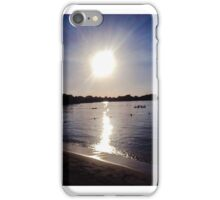 Negril sunset iPhone Case/Skin