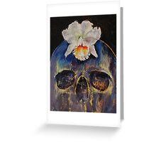 Voodoo Skull Greeting Card