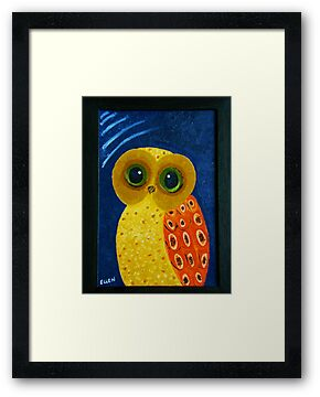 My First Owl Painting by smile4me