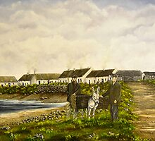 """""""Those were the days - Scattery Island, County Clare, Ireland"""" by Avril Brand"""