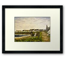 """""""Those were the days - Scattery Island, County Clare, Ireland"""" Framed Print"""