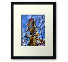 The Zipper Framed Print