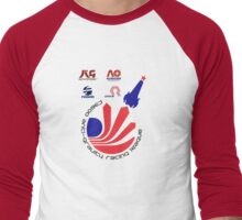WipEout - F3600 League  Men's Baseball ¾ T-Shirt