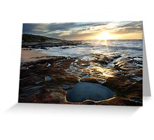 Jakes Point, Kalbarri Greeting Card