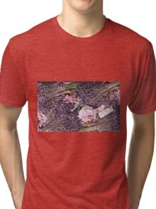 """Exclusive: """" The eternal provence rose of love """" / My Creations Artistic Sculpture Relief fact Main 30  (c)(h) by Olao-Olavia / Okaio Créations Tri-blend T-Shirt"""