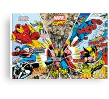 Marvel Comic Canvas Print