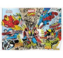 Marvel Comic Poster
