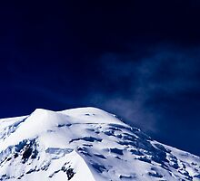 Snowy Summit by Chris Rollason