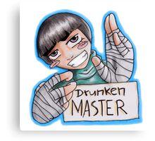 Drunken Master Canvas Print