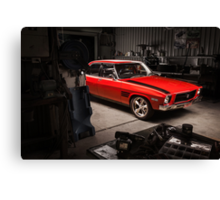 Chris Reece's Holden HQ SS Canvas Print