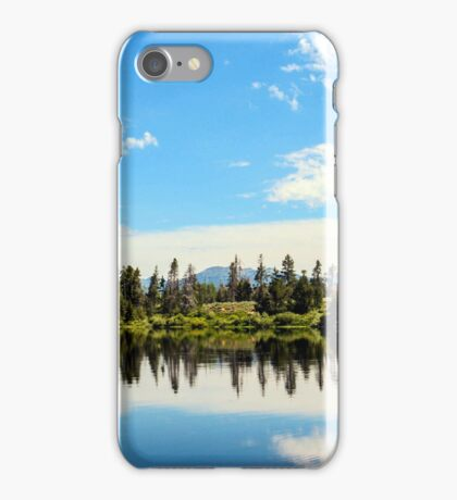 Natures mirror iPhone Case/Skin