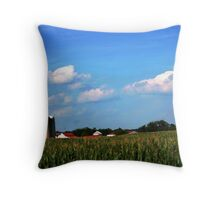 Corn So High Throw Pillow