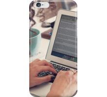 Blogger iPhone Case/Skin