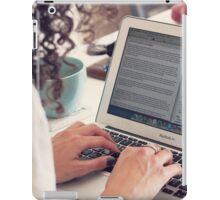 Blogger iPad Case/Skin