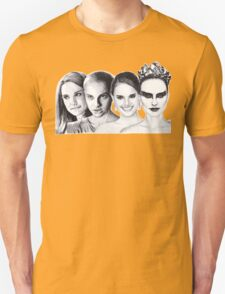 The Many Faces of Natalie Portman Unisex T-Shirt
