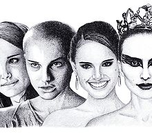 The Many Faces of Natalie Portman by Rotae