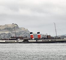 Waverley, in the Firth of Lorne by Alisdair Gurney