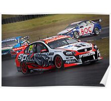 V8 Supercars - Sydney 400  2014 -  James Courtney - Holden Poster