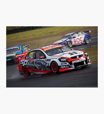 V8 Supercars - Sydney 400  2014 -  James Courtney - Holden Photographic Print