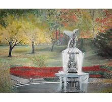 Central Park in  Fall  at the Bethesda  Fountain      ( My Paintings ) Photographic Print