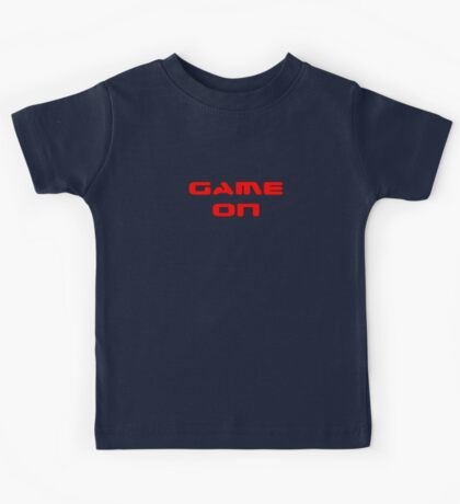 Game Over - Game On - Computer T-Shirt Kids Tee